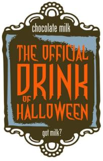 Chocolate Milk The Official Beverage of Halloween
