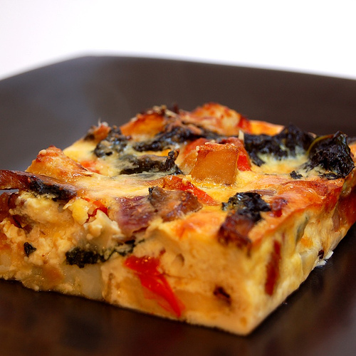Eating Right with Color: Vegetable Frittata | Winners Drink Milk!